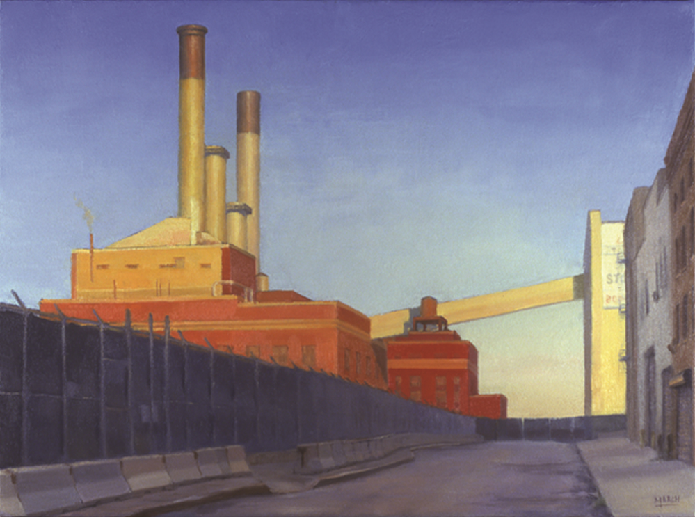 Eric March, The Deconstruction of the Vinegar Hill Power Plant