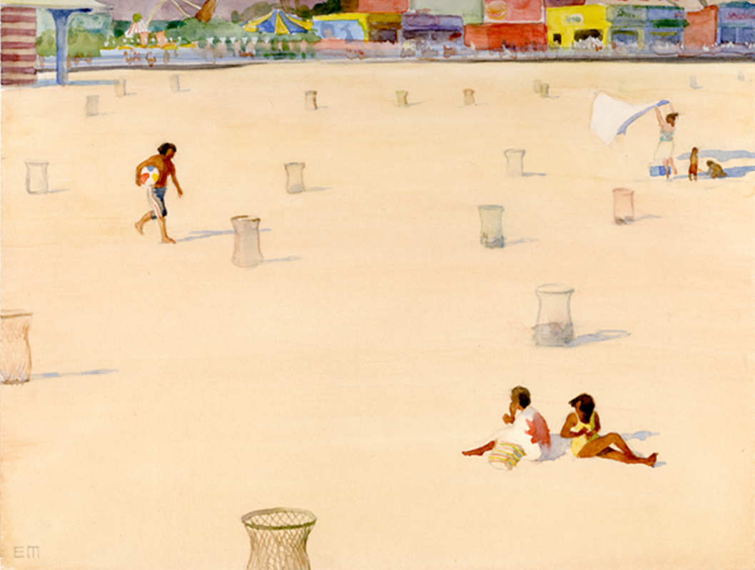 Eric March, Empty Beach